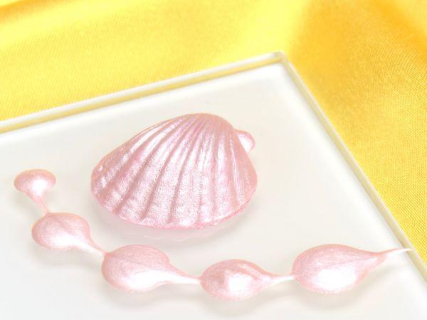Metallic-Lebensmittelfarbe Perlmutt Baby Pink 25ml