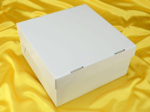 Tortenkarton weiß 26cm 5er Set