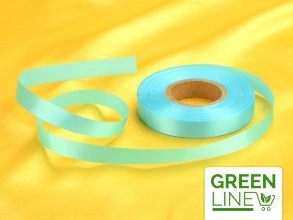Satinband babyblau 14mm, 30 Meter GREENLINE