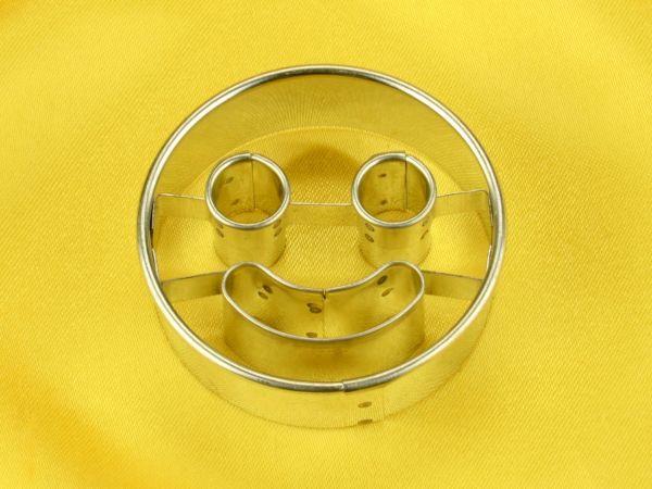 Ausstecher Smiling Face 5cm