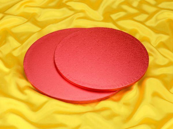 Cakeboard rund 30cm pink