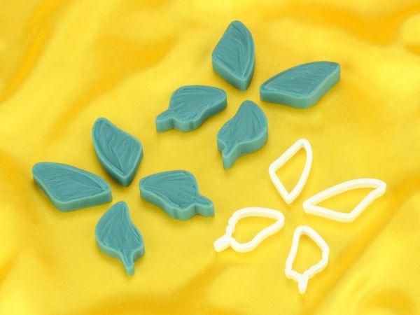 Ausstecher und Veiner Set Schmetterling