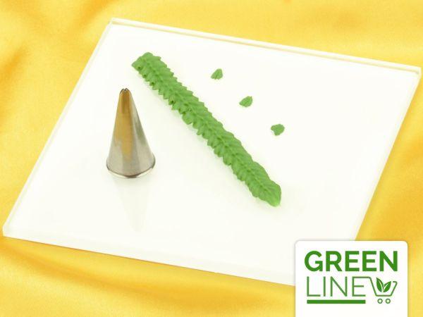 Garniertülle Blatttülle 5mm x 0,5mm GREENLINE