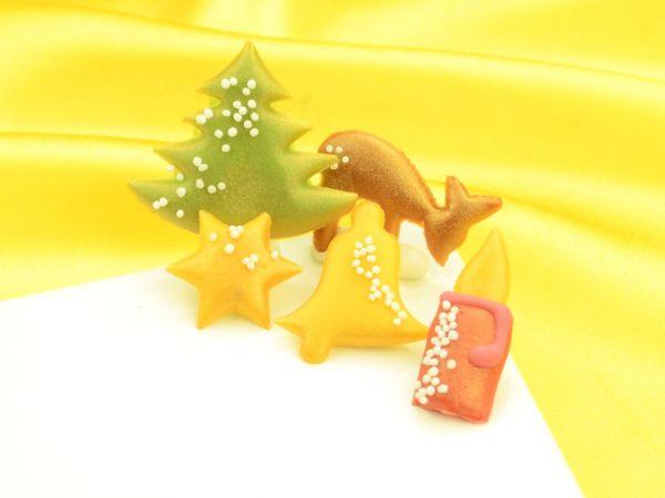 Weihnachtsdekore Marzipan 145er Set