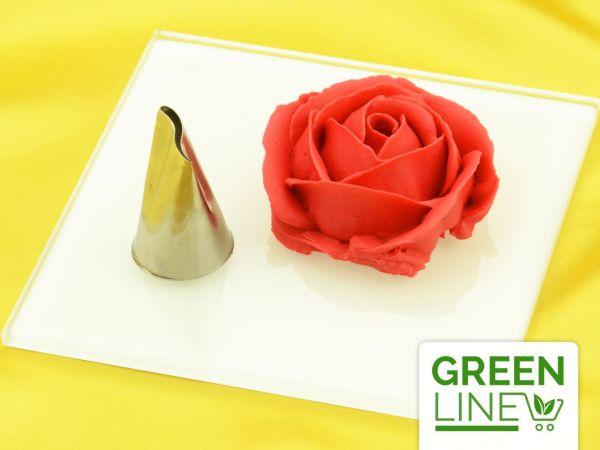 Garniertülle Petals Wave groß GREENLINE