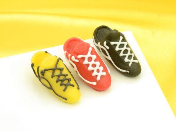 Fußballschuhe Marzipan 4 Stück