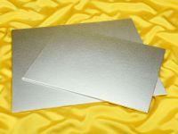 Cakeboard rechteck 40x30cm silber 4mm
