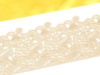 Spitzendekor Baroc pearl white