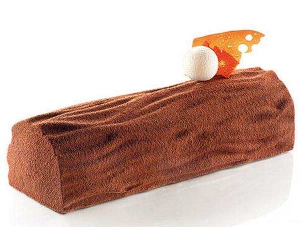 Silikonform Kit Bûche Wood