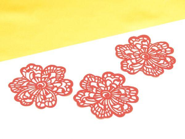Spitzendekor-Matte Flower