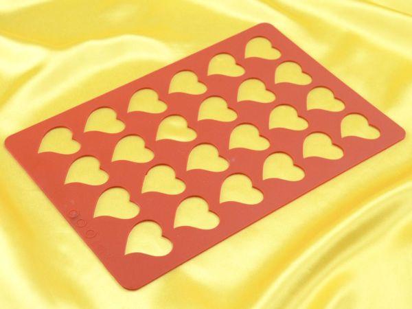 Silikonrahmen für Aufleger Herz