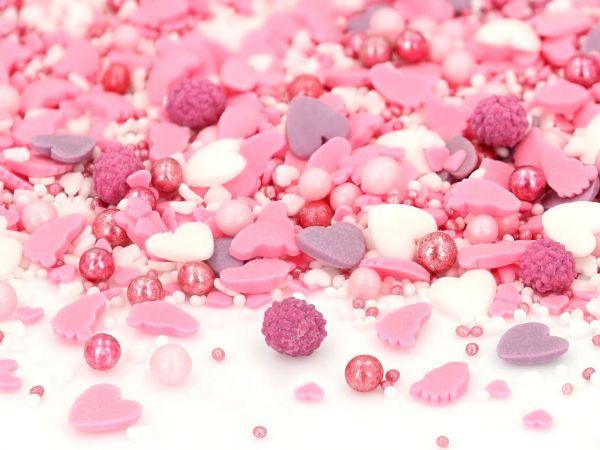 Sprinkles Baby Love pink 80g