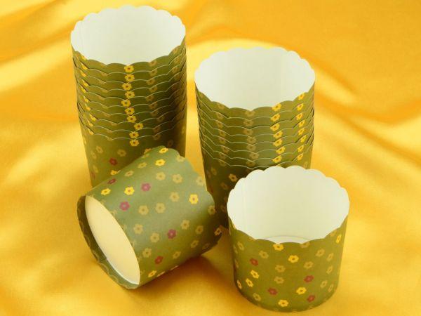 Cupcake Cup groß Blumenwiese 20 Stück