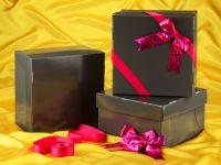 Tortenkarton graphit 36cm 3er Set mit Schleifenset pink