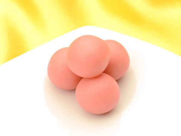 Marzipan angewirkt 70:30 rosa 0,25kg