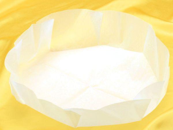 Backpapier rund zugeschnitten 10 Stück