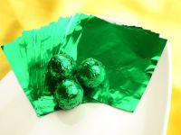 Wickelfolie grün 50 Blatt