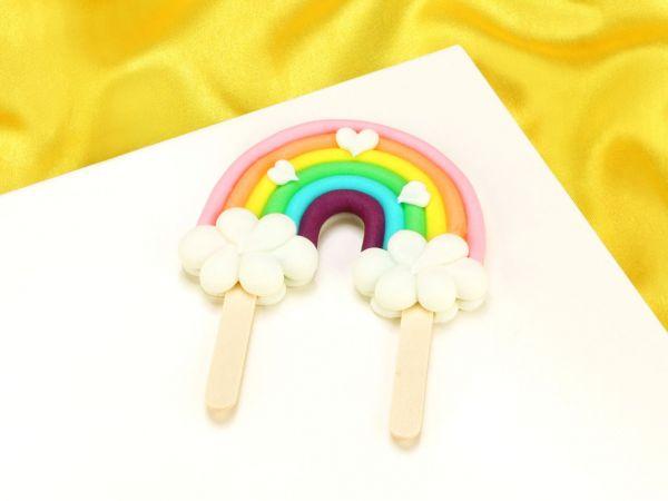Feinzucker Regenbogen Pastell