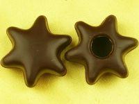 1 Folie Hohlkörper Stern Zartbitter