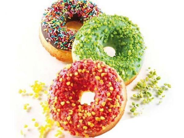 Silikonform Donuts