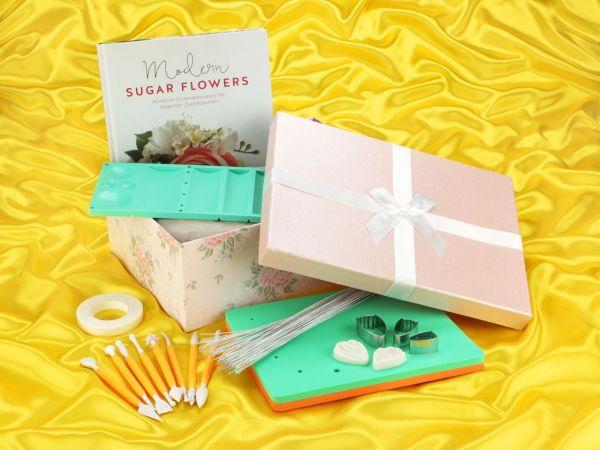 Geschenkset Modern Sugar Flowers