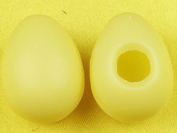 1 Folie Hohlkörper Medium-Eier Weiß