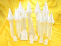 Romantisches Schloss Kuchen Set