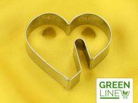 Tassenkeks-Ausstecher Herz 5,5cm