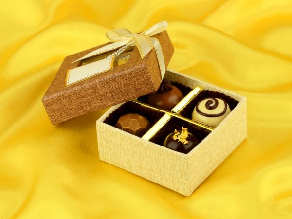 Chocolate Case Treasure für 4 Pralinen