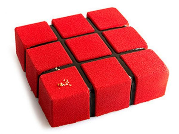 Silikonform Cubik 1400