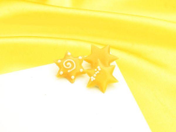 Dekoraufleger Sterne 10 Stück