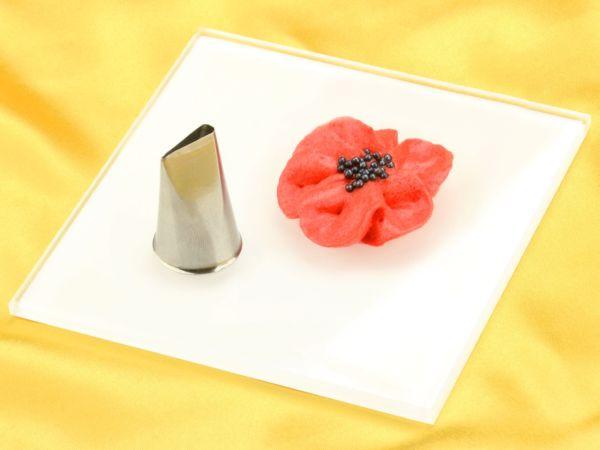 Garniertülle Blütenblatt klein