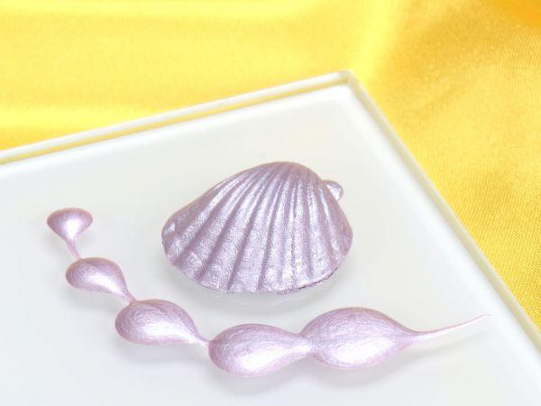 Metallic-Lebensmittelfarbe Perlmutt Lilac 25ml