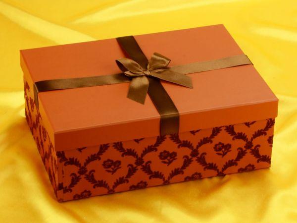 Geschenkkarton Elegance - ohne Schleife