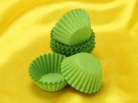 Pralinenkapseln 25mm grün 100 Stück