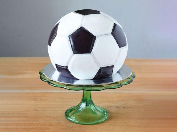 Fußball-Torte Geschenk-Set