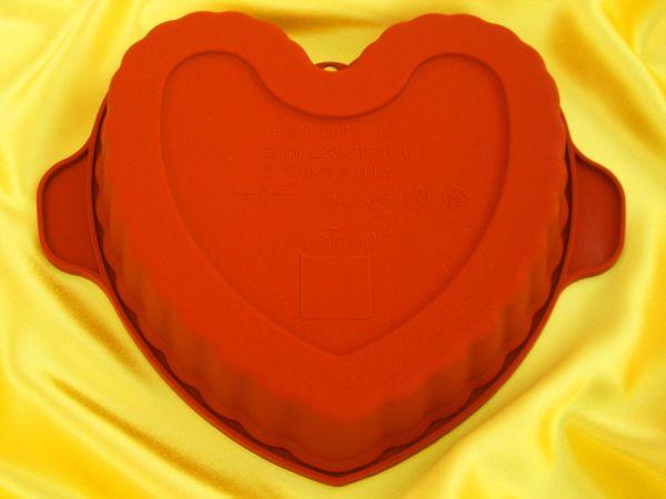 Silikonform mittel Herz