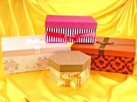 Geschenkkarton-Set 4er