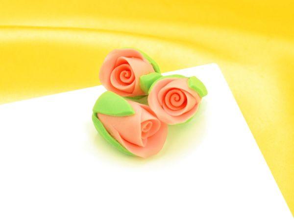 Rosenknospen lachs Zucker 3 Stück