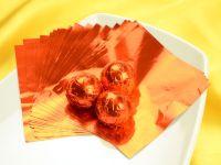 Wickelfolie orange 50 Blatt