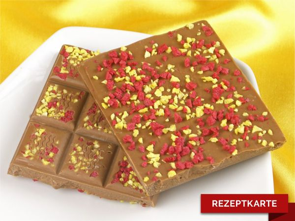 Schokoladentafel Cranberry-Mango