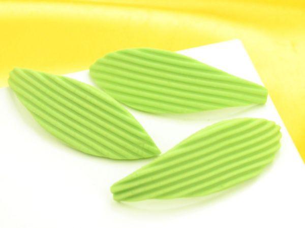 Blätter 63mm Zucker 100 Stück