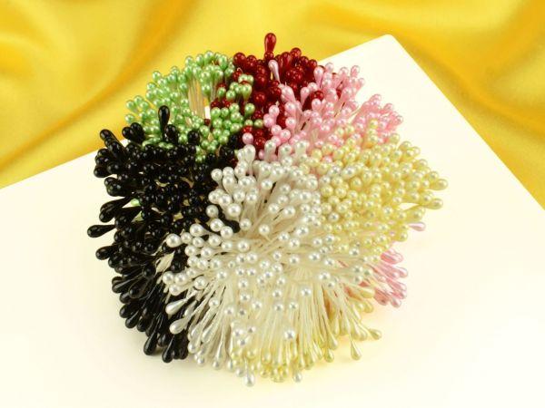 Staubblüten Set 6 Farben je 120 Stück