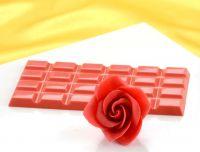 Modellier-Schokolade Rot 600g