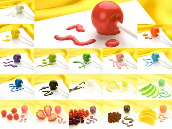 Cake-Pop Glasur Komplett-Set 19er
