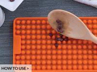 Silikon Küchen- und Backunterlage, orange
