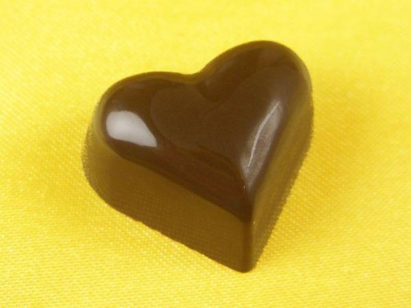 Schokoladenform Herz 24mm