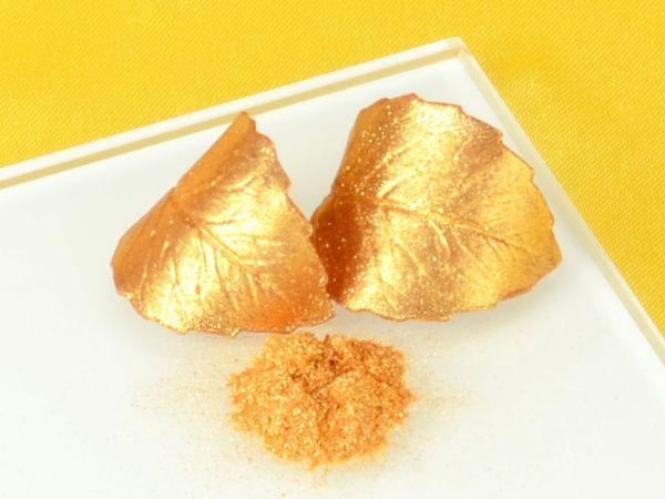 Lebensmittelfarbe Gold sparkle 10g