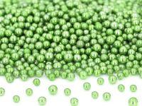 Metallic-Perlen grün 50g