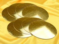 Golden Plate 20cm gold glänzend 8 Stück